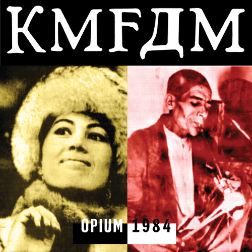 KMFDM-Opium CD Cover 1984