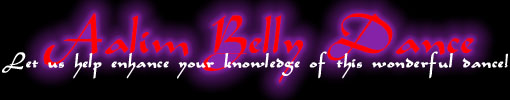 Aalim Belly Dance Logo