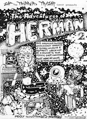The Adventures of Herman 2 (1994) Cover